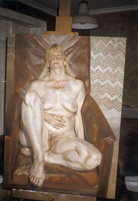 Naked Portrait, 1999 (oil on canvas))