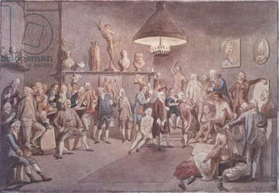 The Academicians of the Royal Academy, 1772