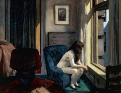 Eleven AM, 1926, by Edward Hopper (1882-1967), oil on canvas. United States of America, 20th century.
