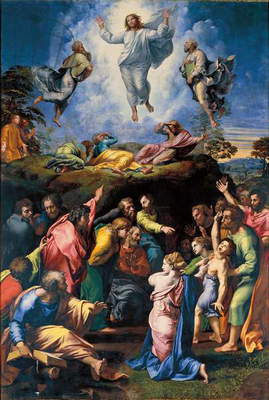 The Transfiguration, c.1519-20 (oil on panel)