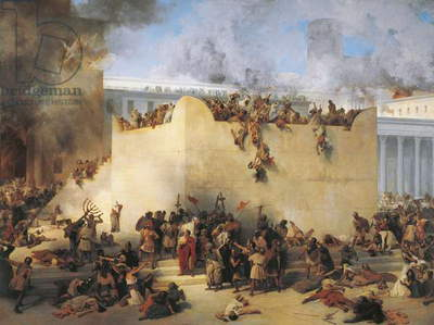 Italy, Lombard, Destruction of Temple of Jerusalem