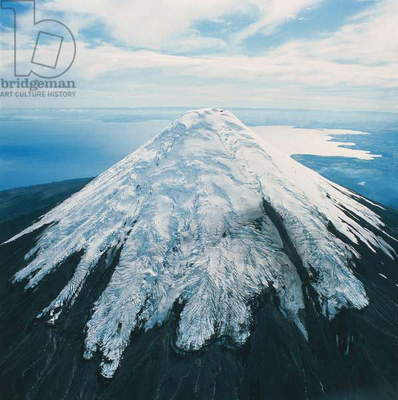 Chile, Andes, Aerial view of Osorno Volcano (photo)