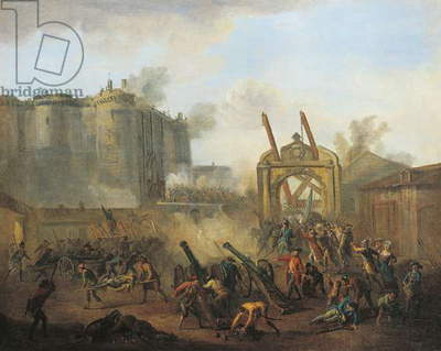 Storming of Bastille, July 14, 1789, French Revolution, France, 18th century