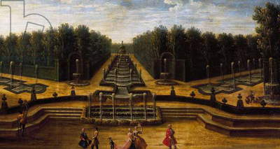 Water theatre, Garden of Palace of Versailles