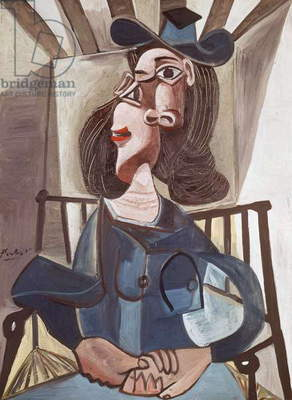 Woman sitting, 1940-1941, by Pablo Picasso (1881-1973). Spain, 20th century.