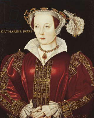 Portrait of Katherine Parr, c.1545 (oil on panel)