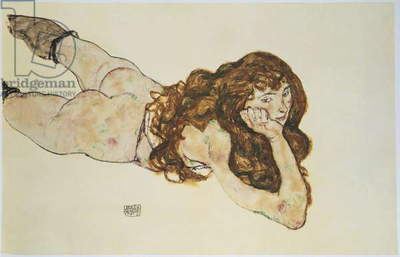 Female Nude Lying on her Stomach