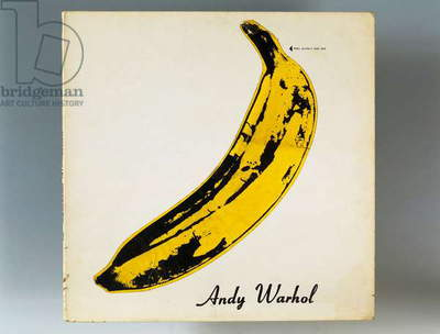Album cover of The Velvet Underground and Nico, created by Andy Warhol (1928-1987). United States of America, 20th century.