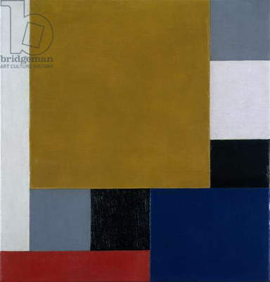 Composition 22, 1922, by Theo van Doesburg (1883-1931), oil on canvas, 72x70 cm