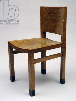 Chair for Gualino Palace, Turin, 1928-29 (wood)
