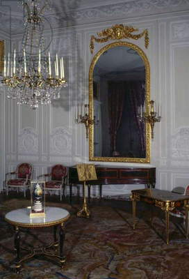 Music room in Petit Trianon, 1768, Palace of Versailles (UNESCO World Heritage List, 1979), Ile-de-France, France, 18th century