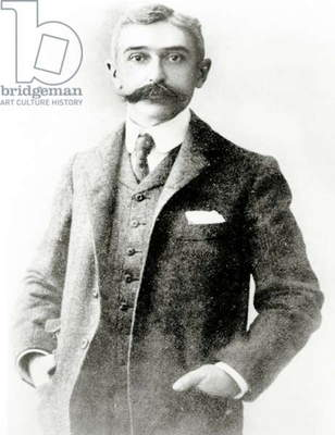 Pierre de Coubertin, 1915 (photo)