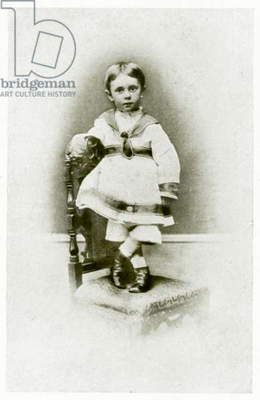 Aubrey Beardsley, aged 2 years and 3 months (photo)