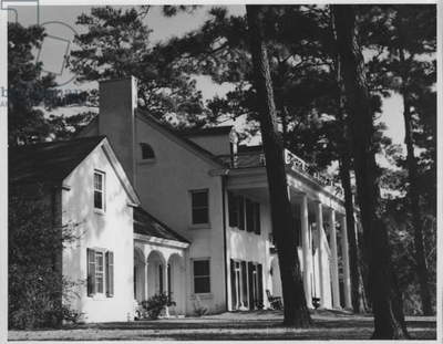 Plantation in the Pines, 1935-36 (b/w photo)