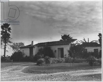 Rio Grand Valley Home, 1935-36 (b/w photo)