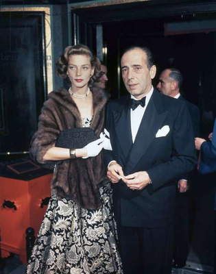 Humphrey Bogart and Lauren Bacall, c. 1955 (photo)