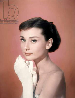 FUNNY FACE, 1957 directed by STANLEY DONEN Audrey Hepburn (photo)