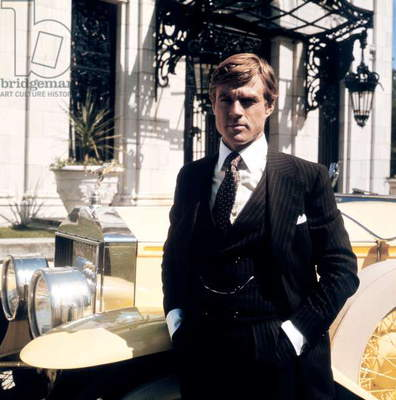 Gatsby le Magnifique THE GREAT GATSBY by Jack Clayton with Robert Redford, 1974 (photo)