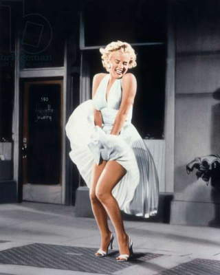 Marilyn Monroe in 'The Seven Year Itch', 1955 (photo)