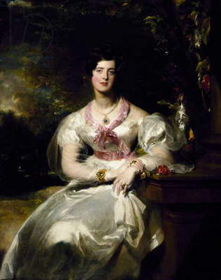 Portrait of the Honorable Mrs. Seymour Bathurst, 1828 (oil on canvas)