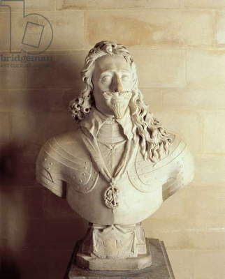 Bust of Charles I, 1636 (marble)