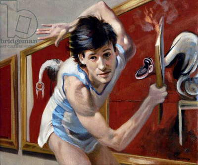 Sebastian Coe Cultural Olympiad, 2009 (oil on canvas)
