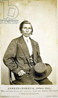 ANPETU,Other Day, Who rescued 62 persons from the Indian massacre of 1862 in Minnesota