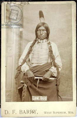 Sioux Low Dog ,1870s-80s