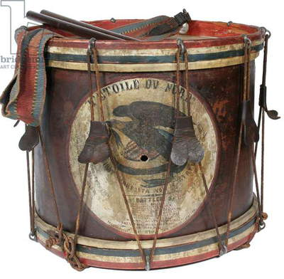 1st Minnesota Regiment Drum (mixed media)