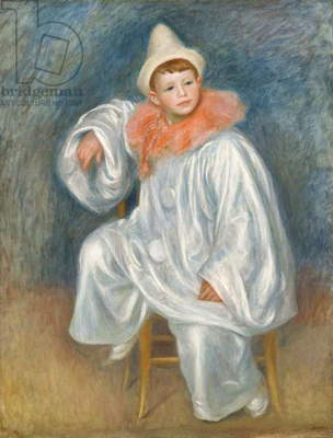 The White Pierrot, 1901/02 (oil on canvas)