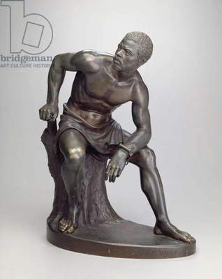 The Freedman, 1863 (bronze)