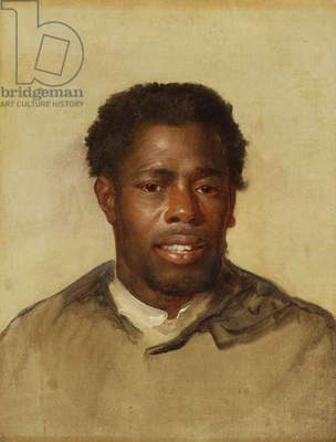 Head of a Negro, c.1777-78 (oil on canvas)