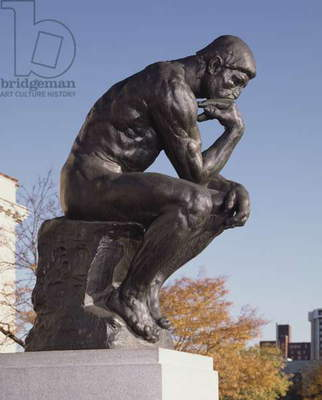 The Thinker, 1904 (bronze)