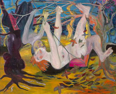 The Swing, 1982 (oil on canvas)