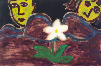 The Flower, 1991 (monoprint)