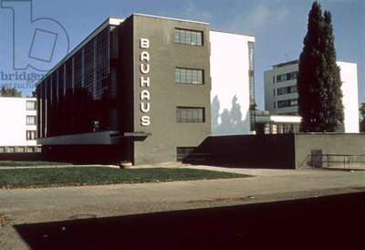 Bauhaus Workshop, Dessau (photo)