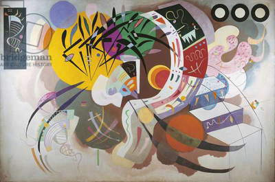 Dominant Curve, 1936 (oil on canvas)