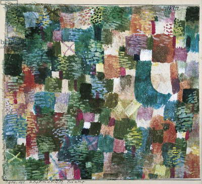Rhythm of the Forest, by Paul Klee, 20th Century