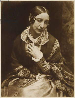 Lady Eastlake, c.1843-48 (calotype)