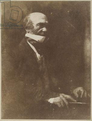 Dr. Robert Knox, c.1843-48 (calotype)