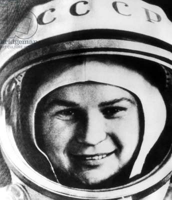 Valentina Tereshkova, Russian cosmonaut, the first woman to fly in space, c.1963