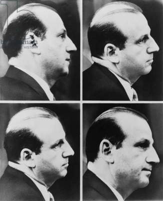 Jack Ruby (1911-1967) during his trial for the murder of Lee Harvey Oswald, the suspected assassin of President Kennedy in 1964