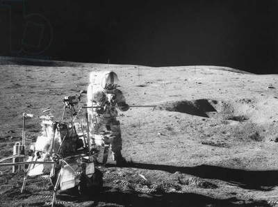 Apollo 14 commander and fifth man to walk on the moon Alan B. Shepard Jr., 1971.