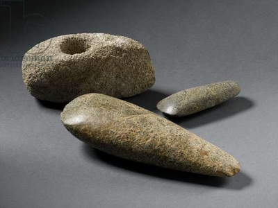 Neolithic stone axes, 4000-2200 BC (stone)