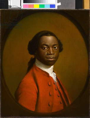 Portrait of an African, c.1757-60 (oil on canvas)