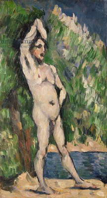 Standing Nude, 1875-77 (oil on canvas)