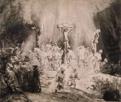 B.78.III The Three Crosses, c.1660 (etching)