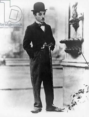 CHARLIE CHAPLIN: THE TRAMP. Charlie Chaplin as Charlie, 'The Tramp'.
