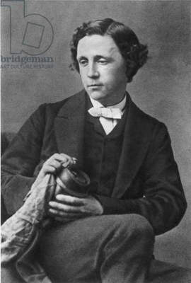 CHARLES LUTWIDGE DODGSON (1832-1898). Also known as Lewis Carroll. English mathematician and writer. Photographed in 1863 by Oscar G. Rejlander.