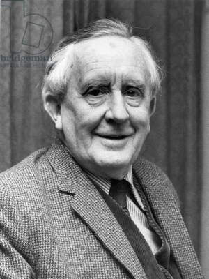 J.R.R. TOLKIEN (1892-1973) Né John Ronald Reuel Tolkien. English author.
